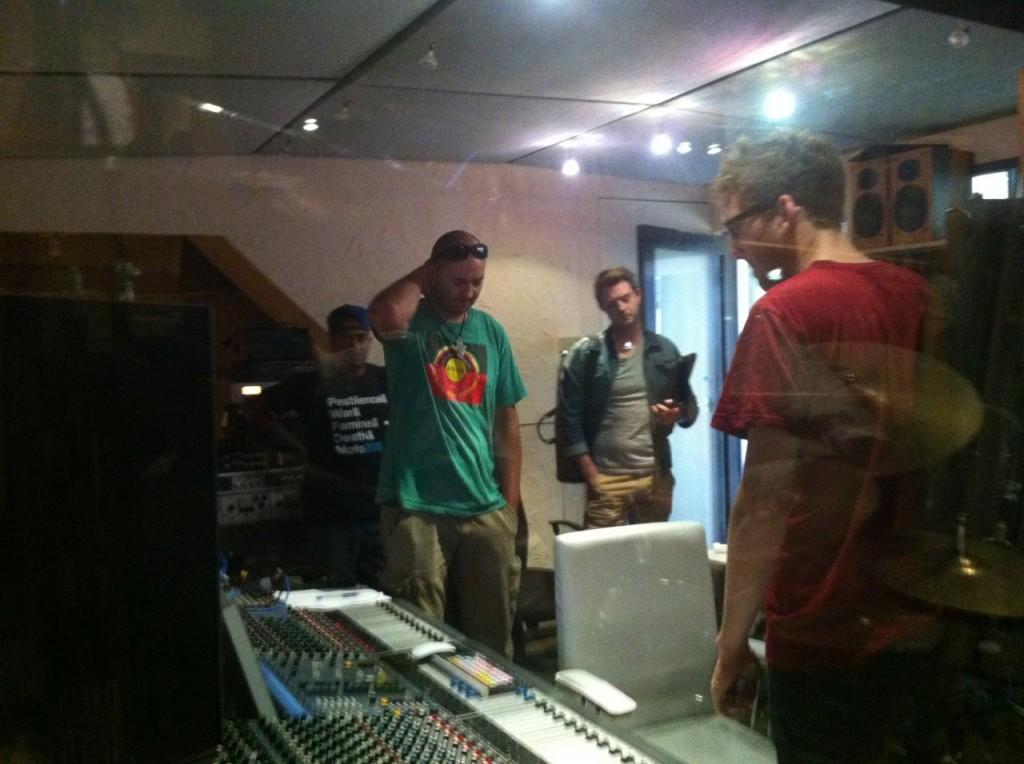 Recording J-Azmaris and Mahmoud Ahmed - 1